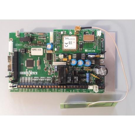 DUEVI - SCH60/3 - SCHEDA DI RICAMBIO PER CENTRALE CE60/3GSM