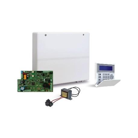 AMC - CENTRALE X412+ TASTIERA K-LCD BLUE